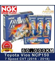 NGK Iridium IX Spark Plug for Toyota Vios NCP150 7Speed CVT (2016 - 2018) - 60,000KM Iridium Spark Plug