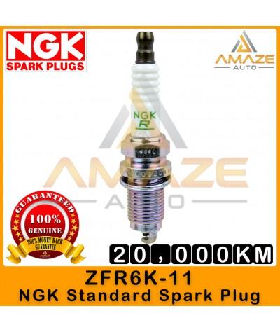 NGK Spark Plug ZFR6K11 (fit Honda Accord (05-10), Civic, CR-V/CRV, Odyssey, Stream)  - Last 20,000KM [Amaze Autoparts]