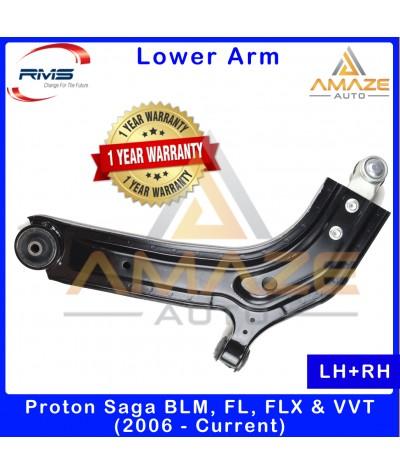 RMS Front Lower Control Arm for Proton Saga BLM, FL, FLX & VVT (2006-Current) (LH+RH) - 1 Year Warranty or 30,000KM
