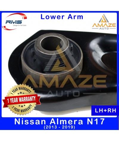 RMS Front Lower Control Arm for Nissan Almera N17 (2012-2019) (LH+RH) - 1 Year Warranty or 30,000KM