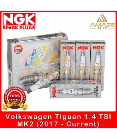 NGK Laser Platinum Spark Plug for Volkswagen Tiguan 1.4 TSI MK2 (2017-Current)