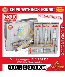 NGK Laser Platinum Spark Plug for Volkswagen Passat 2.0 TSI B8 (2016-Current) Equals to 06K905601B [Amaze Autoparts]