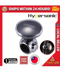 Hypersonic Car Power Handle Easy Steering Knob Black Spinner Steering Wheel Accessories for Car / Truck / Boat (HP3489)