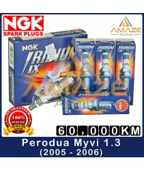 NGK Iridium IX Spark Plug for Perodua Myvi 1.3 (2005~2006) - Performance Spark Plug Last 60,000KM