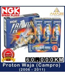 NGK Iridium IX Spark Plug for Proton Waja 1.6 Campro(2006-2011) - 60,000KM High Performance Spark Plug