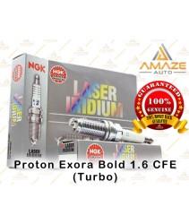 NGK Laser Iridium Spark Plug for Proton Exora Bold 1.6 CFE (Turbo)