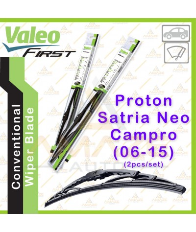 Valeo First Wiper Blade for Proton Satria Neo Campro (06-15) (2pcs/set)