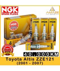 NGK G-Power Platinum Spark Plug for Toyota Altis 1.6 & 1.8 ZZE121 (2001-2007) - Last 40,000KM
