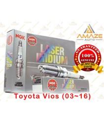 NGK Laser Iridium Spark Plug for Toyota Vios (03~16)