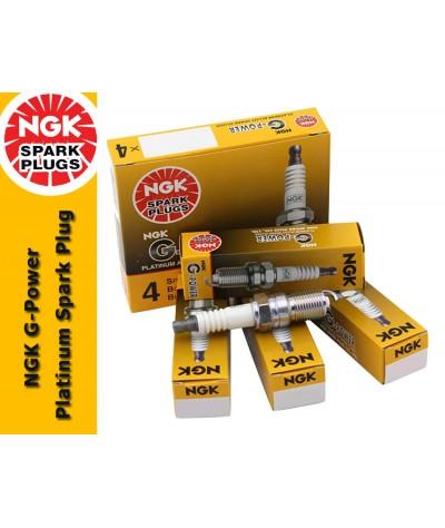 NGK G-Power Platinum Spark Plug for Toyota Corolla 1.6 (AE111)