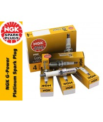 NGK G-Power Platinum Spark Plug for Toyota Land Cruiser Prado 3.4i V6