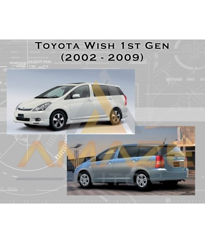 NGK Iridium IX Spark Plug for Toyota Wish 2.0 (1st Gen) (02-09)
