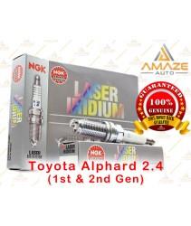 NGK Laser Iridium Spark Plug for Toyota Alphard 2.4 (1st & 2nd Gen)
