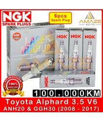 NGK Laser Iridium Spark Plug for Toyota Alphard 3.5 V6 ANH20 & GGH30 (2008-2017) - Long Life Spark Plug 100,000KM