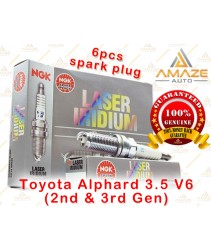 NGK Laser Iridium Spark Plug for Toyota Alphard 3.5 V6 (2nd & 3rd Gen)