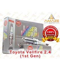 NGK Laser Iridium Spark Plug for Toyota Vellfire 2.4 AGH20 (2008-2015) - Long Life Spark Plug