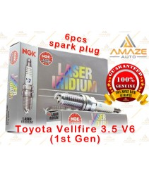NGK Laser Iridium Spark Plug for Toyota Vellfire 3.5 V6 (1st Gen) *Special size