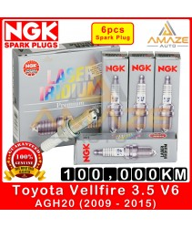 NGK Laser Iridium Spark Plug for Toyota Vellfire 3.5 V6 AGH20 (2009-2015) - Long Life Spark Plug 100,000KM