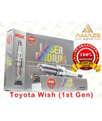 NGK Laser Iridium Spark Plug for Toyota Wish (1st Gen)