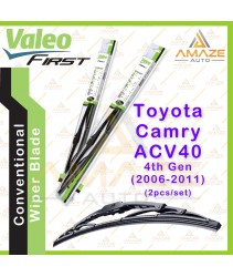 Valeo First Wiper Blade for Toyota Camry 4th gen ACV40 (2006-2011) (2pcs/set)