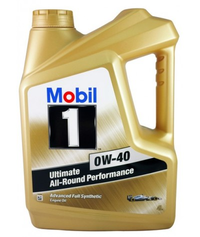 Mobil 1 Ultimate All-Round Performance Advance Fully-Synthetic 0W40SN Engine Oil -  4Liters