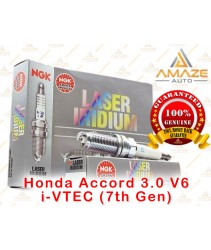 NGK Laser Iridium Spark Plug for Honda Accord 3.0 V6 i-VTEC (7th Gen)