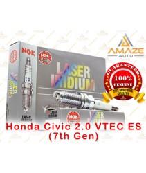 NGK Laser Iridium Spark Plug for Honda Civic 2.0 VTEC ES (7th Gen)