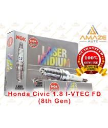 NGK Laser Iridium Spark Plug for Honda Civic 1.8 I-VTEC FD (8th Gen)