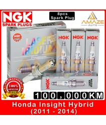 NGK Laser Iridium Spark Plug for Honda Insight 1.3 Hybrid (2011-2014) - Long Life Spark Plug 100,000KM