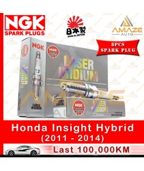 NGK Laser Iridium Spark Plug for Honda Insight 1.3 Hybrid