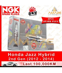 NGK Laser Iridium Spark Plug for Honda Jazz 1.3 Hybrid (2nd Gen)