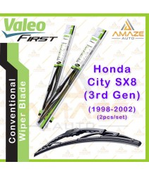 Valeo First Wiper Blade for Honda City SX8 - 3rd Gen (1998 - 2002) (2pcs/set)