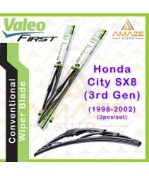 Valeo First Wiper Blade for Honda City SX8 - 3rd Gen (1998 - 2002) (2pcs/set)