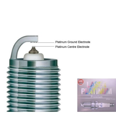 NGK Laser Platinum Spark Plug for Nissan Cefiro 2.0 A31 (1st Gen)