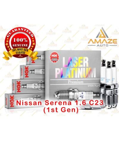 NGK Laser Platinum Spark Plug for Nissan Serena 1.6 C23 (1st Gen)