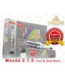 NGK Laser Iridium Spark Plug for Mazda 2 1.5  (09 - 14)