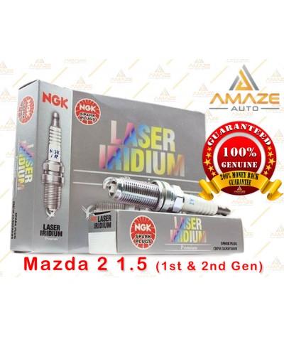 NGK Laser Iridium Spark Plug for Mazda 2 1.5  (09 - 14)
