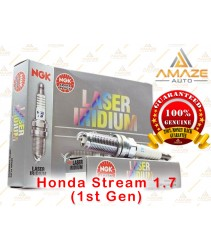 NGK Laser Iridium Spark Plug for Honda Stream 1.7 (1st Gen)