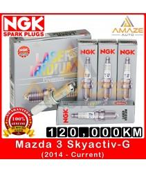 NGK Laser Iridium Spark Plug for Mazda 3 Skyactiv-G (2014-Current) - Long Life Spark Plug 120,000KM