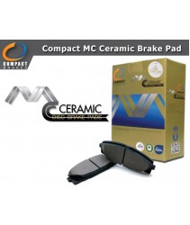 Compact MC Ceramic Brake Pad for Toyota Vios 1st Gen (NCP42) (2003-2007) (Rear)