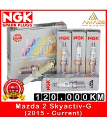 NGK Laser Iridium Spark Plug for Mazda 2 Skyactiv-G (2015-Current) - Long Life Spark Plug 120,000KM