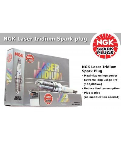 NGK Laser Iridium Spark Plug for Mazda 8