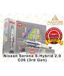 NGK Laser Iridium Spark Plug for Nissan Serena S-Hybrid 2.0 C26 (3rd Gen)