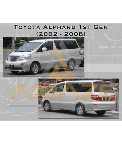 Compact MC Ceramic Brake Pad for Toyota Alphard 3.0 1st gen (2005-2008) (Front)