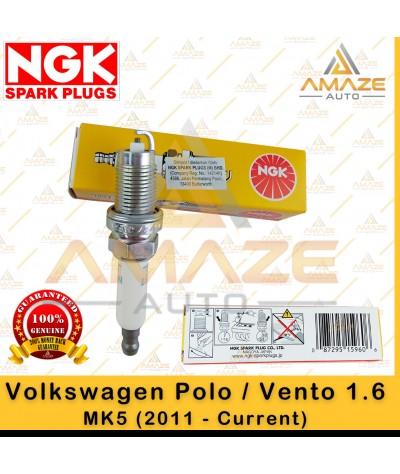 NGK Spark Plug for Volkswagen Polo / Vento 1.6 MK5 (2011 - Current)