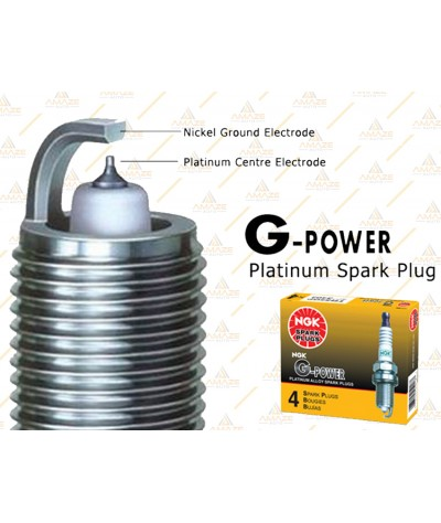 NGK G-Power Platinum Spark Plug for Hyundai Getz (02-09)
