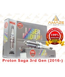 NGK Laser Iridium Spark Plug for Proton Saga 3rd Gen (2016-Current)