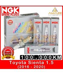 NGK Laser Iridium Spark Plug for Toyota Sienta (2016-2020)