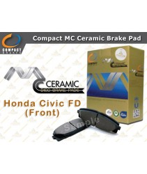 Compact MC Ceramic Brake Pad for Honda Civic I-VTEC FD (Front)
