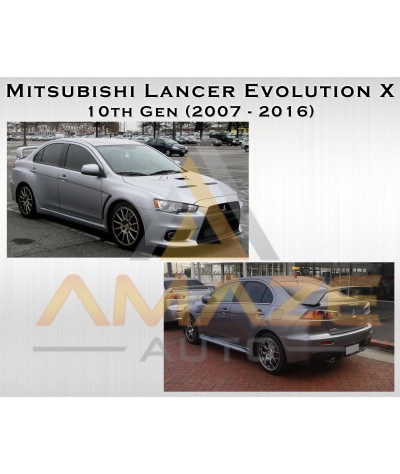 NGK Laser Iridium Spark Plug for Mitsubishi Lancer Evolution X 2.0 Turbo (10th Generation)